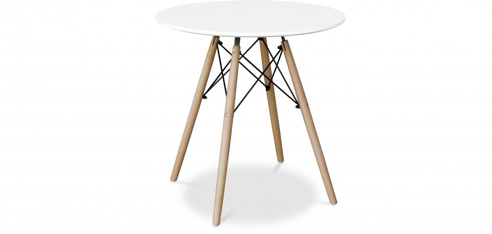Buy Deswick Table 70cm - Wood White 58279 - in the UK