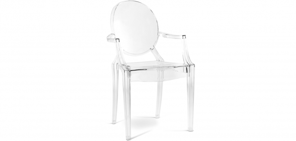 Buy Louis XIV Armchair Transparent 16461 - in the UK