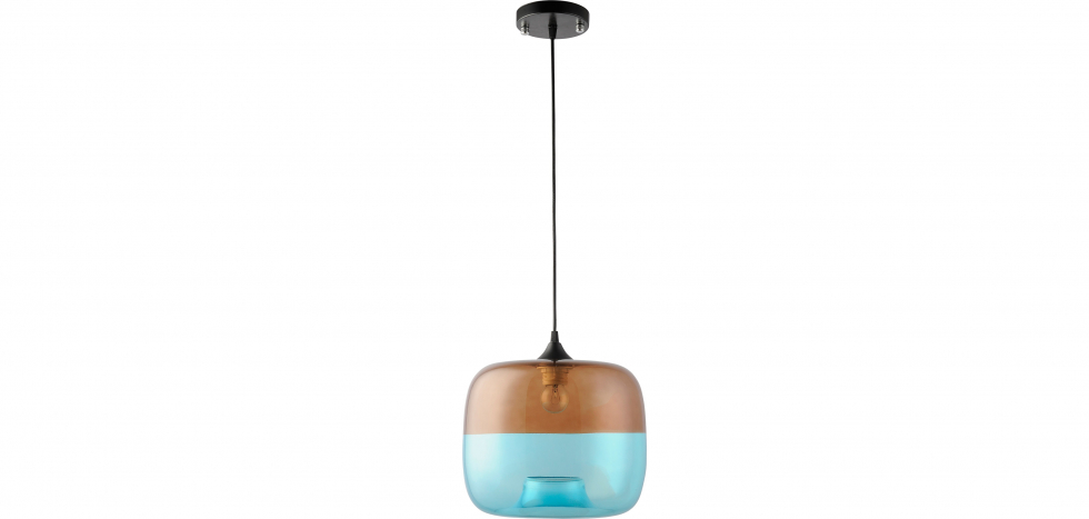 Buy Coffee Blue Lamp - Glass Blue 58259 - in the UK