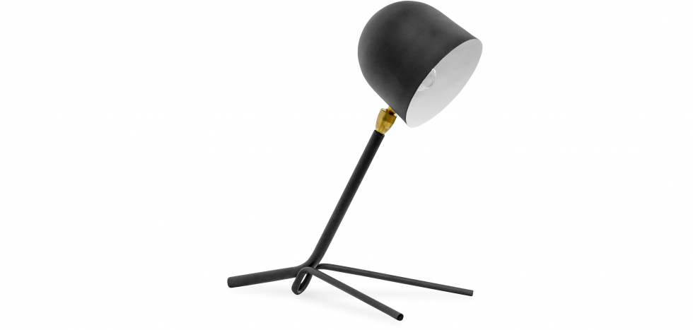 Buy Table lamp Alexa Black 58215 - in the UK