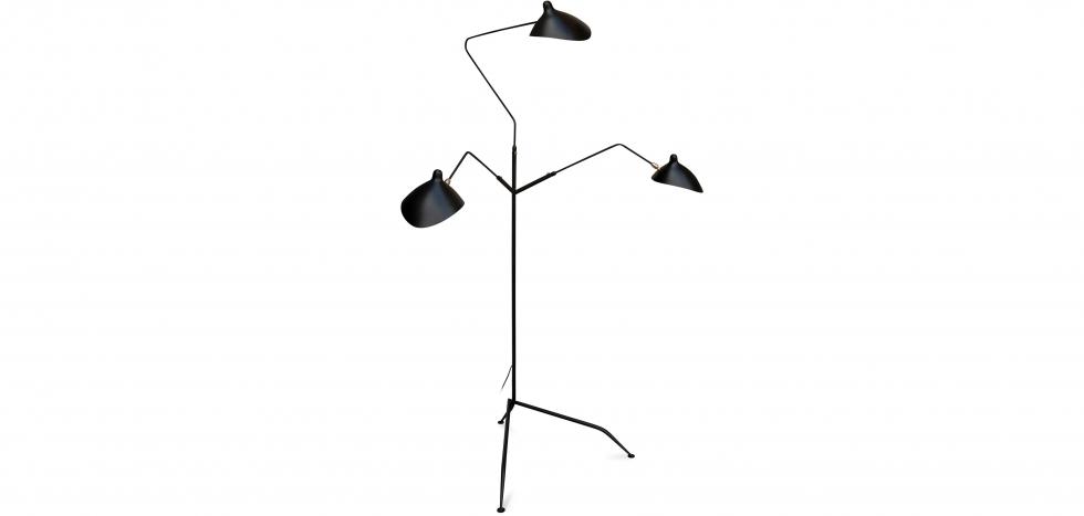 Buy MSL-3 Floor lamp  Black 55760 - in the UK