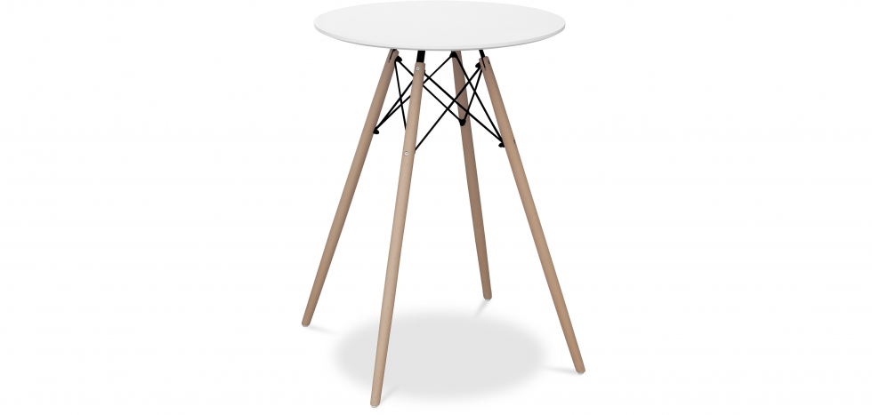 Buy Deswick High table for bar stool White 58378 - in the UK
