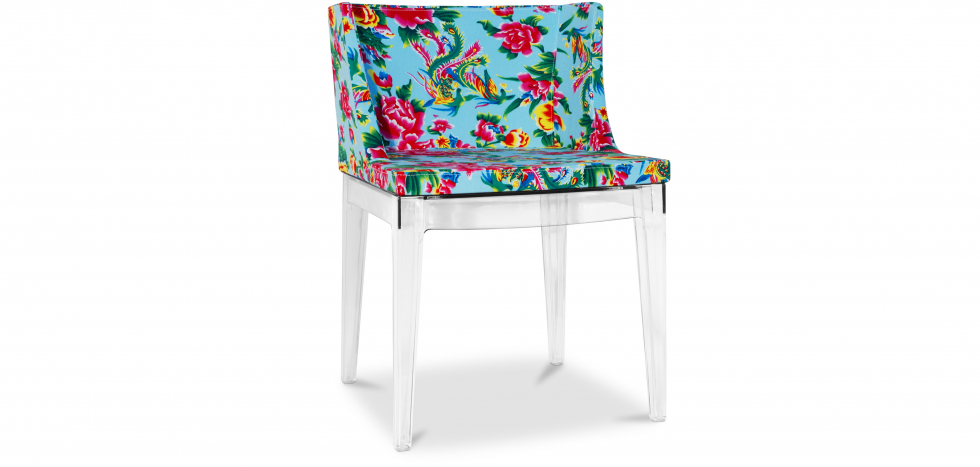 Buy Blue Mademoiselle Style Chair Transparent 54118 - in the UK