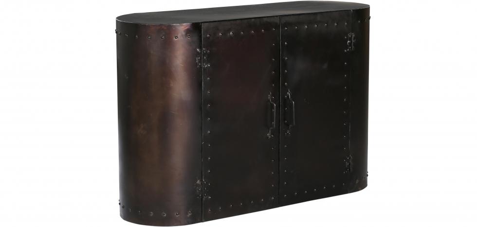 Buy Retro Vintage Industrial Style Sideboard - Grange & Co. - Metal Steel 54015 - in the UK