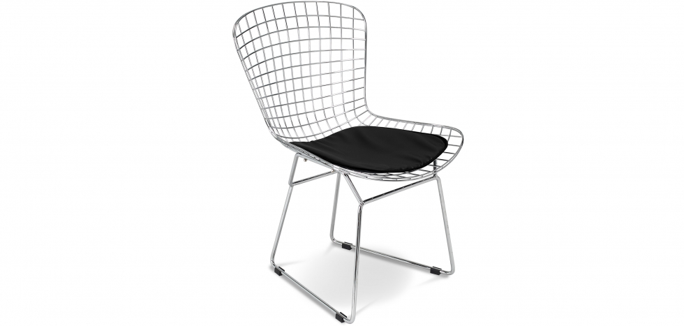 Buy Wire Chair Harry Bertoia  Black 16450 - in the UK