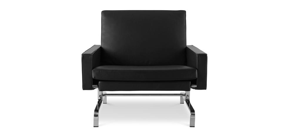 Buy PK31 Armchair Poul Kjærholm  Black 16758 - in the UK
