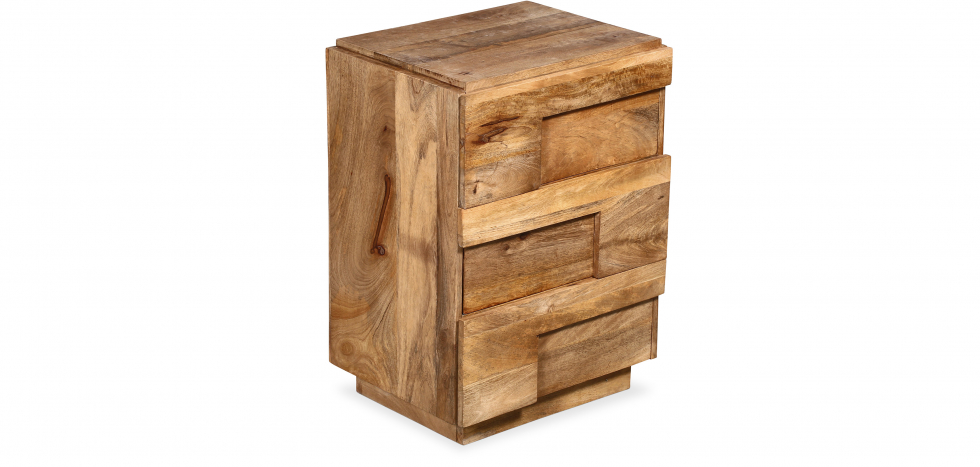 Buy Handmade wooden chest of drawers - Jakarta Natural wood 58878 - in the UK