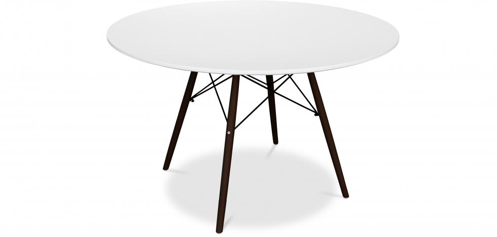 Buy Deswick dining table 120cm - Darwick legs White 59074 - in the UK