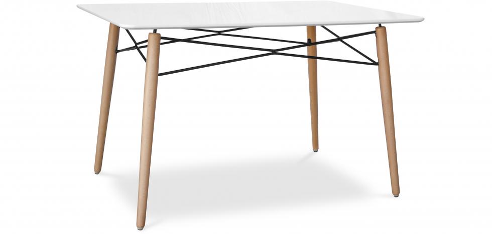 Buy Deswick Rectangular Dining Table White 59075 - in the UK