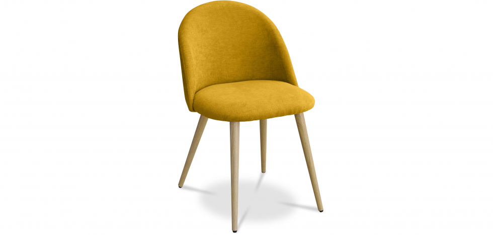 Buy Premium Evelyne Dining Chair Yellow 59261 - in the UK