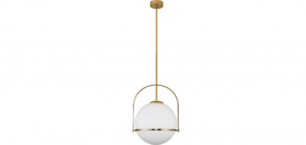 Buy Anette pendant lamp - Metal and crystal Gold 59329 - in the UK